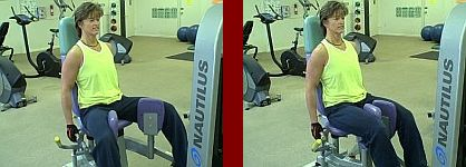 inner thigh machine gym equipment start and finish picture