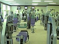Picture of strength training gym equipment